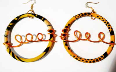 Earring named Creole wax