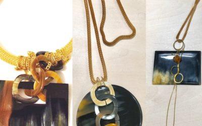 Collier collection vintage: fauve